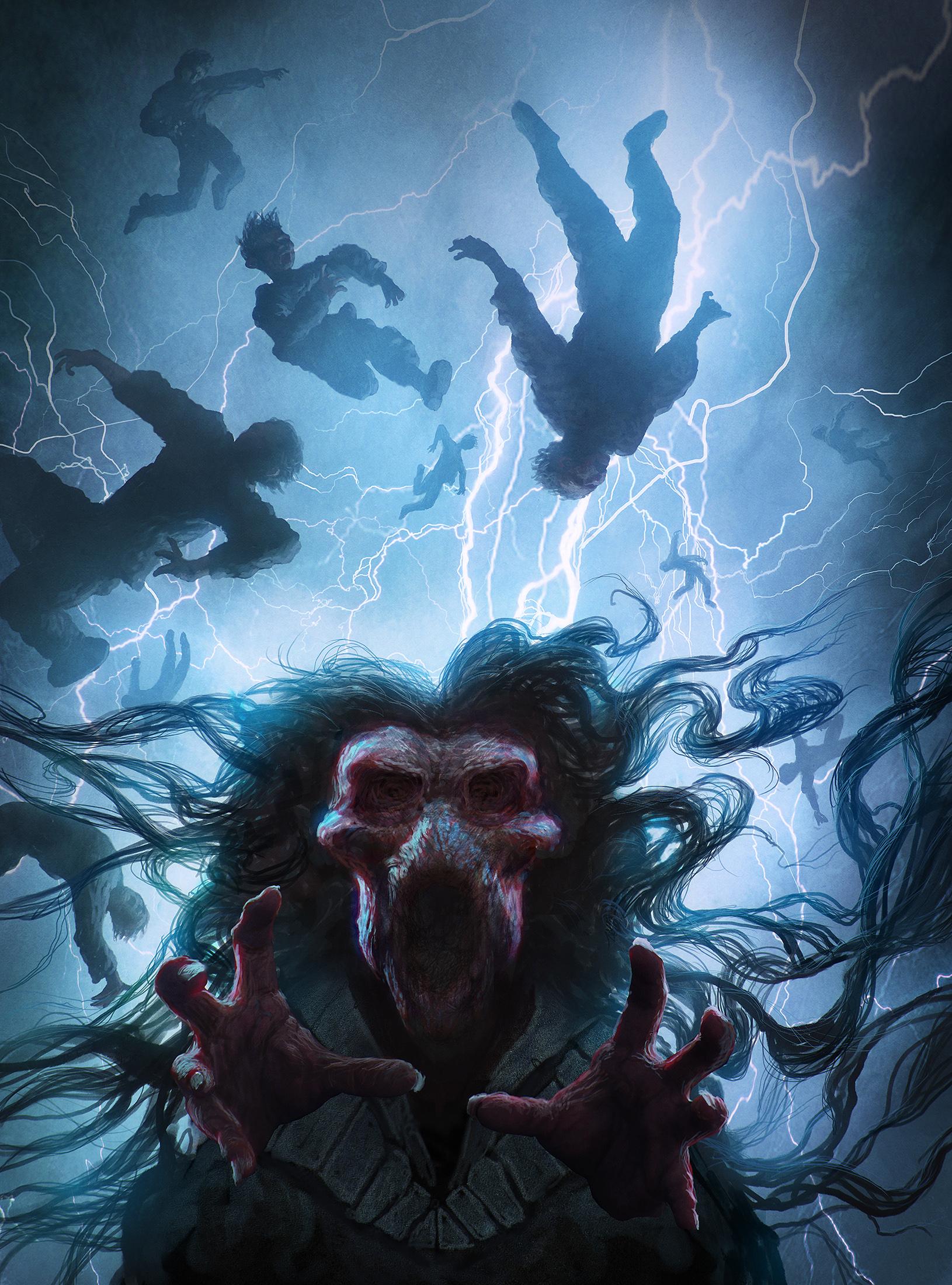 Gyldendal - Stormen cover art